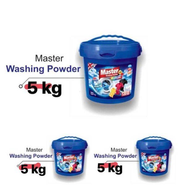 پودر لباسشویی مستر مگ واش سطلی ۵ کیلویی