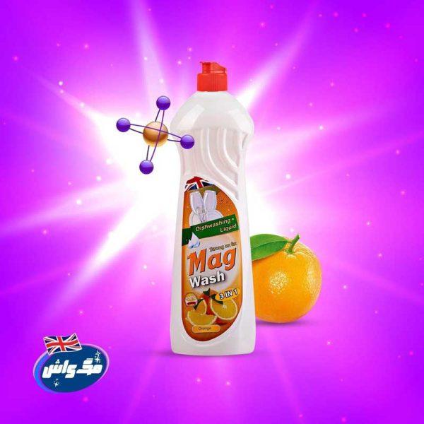 مایع ظرفشویی مگ پرتقال