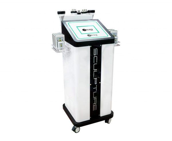 دستگاه لاغری اراف 8گیم زیبایی و موضوعی صورت و بدن و کاهش وزن 6 هندپیس انزوایتالیا